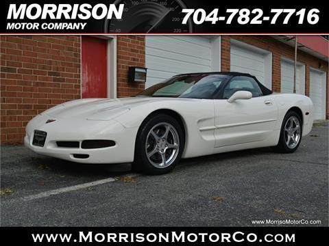 2001 Chevrolet Corvette for sale at Morrison Motor Co in Concord NC