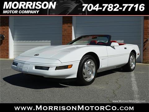 1996 Chevrolet Corvette for sale at Morrison Motor Co in Concord NC