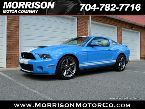2010 Ford Shelby GT500 for sale at Morrison Motor Co in Concord NC