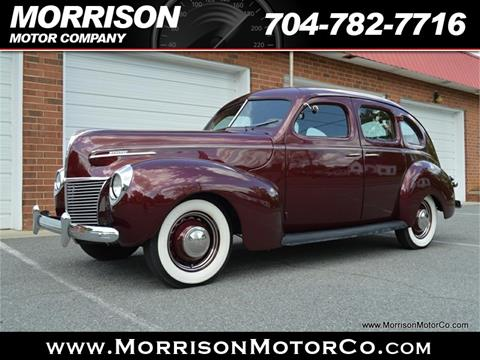 1939 Mercury Eight Town Sedan for sale at Morrison Motor Co in Concord NC