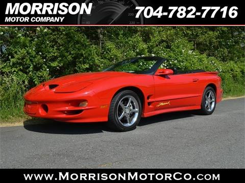 2001 Pontiac Firebird for sale in Concord, NC