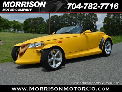 1999 Plymouth Prowler for sale in Concord, NC
