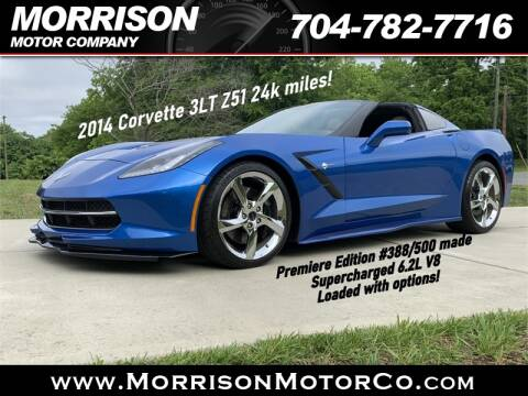 2014 Chevrolet Corvette Stingray Z51 for sale at Morrison Motor Co in Concord NC