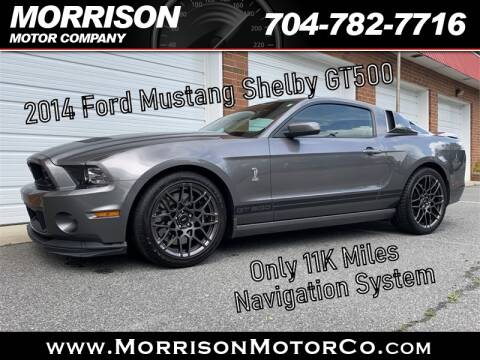 2014 Ford Shelby GT500 for sale at Morrison Motor Co in Concord NC