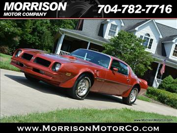 1976 Pontiac Trans Am for sale in Concord, NC
