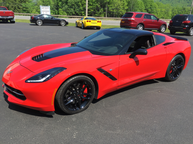 2016 Chevrolet Corvette Stingray Z51 2dr Coupe w/3LT - Oneonta NY
