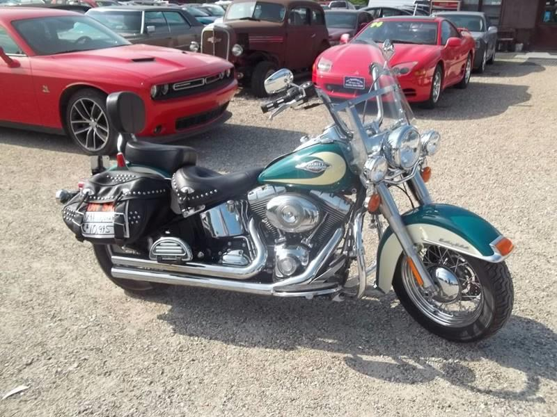 2009 Harley-Davidson Heritage Softail Classic for sale at BRETT SPAULDING SALES in Onawa IA