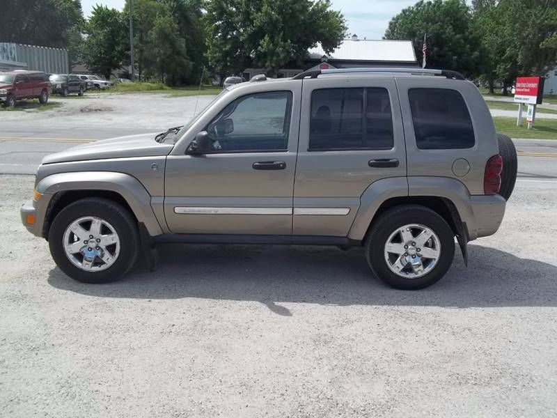 2005 jeep liberty limited 4wd 4dr suv w 28f in onawa ia brett spaulding sales. Black Bedroom Furniture Sets. Home Design Ideas