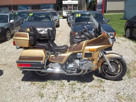 1985 Honda GL1200 for sale at BRETT SPAULDING SALES in Onawa IA