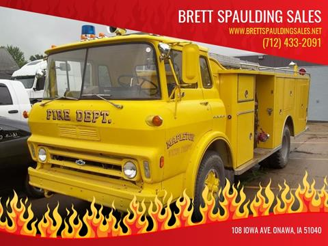 1972 Chevrolet C60 for sale at BRETT SPAULDING SALES in Onawa IA
