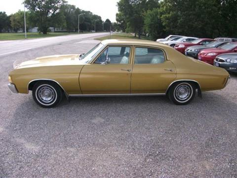 1972 Chevrolet Chevelle for sale at BRETT SPAULDING SALES in Onawa IA