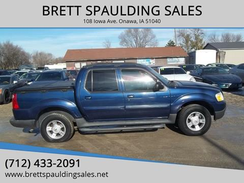 2004 Ford Explorer Sport Trac for sale at BRETT SPAULDING SALES in Onawa IA