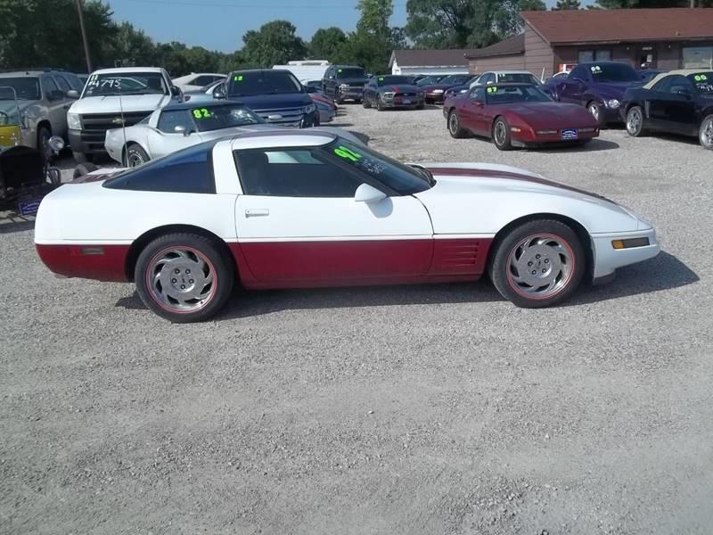 1992 Chevrolet Corvette for sale at BRETT SPAULDING SALES in Onawa IA
