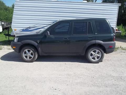 2002 Land Rover Freelander for sale at BRETT SPAULDING SALES in Onawa IA