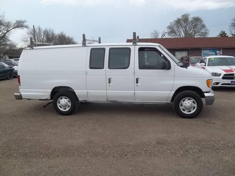 2002 Ford E-Series Cargo for sale at BRETT SPAULDING SALES in Onawa IA