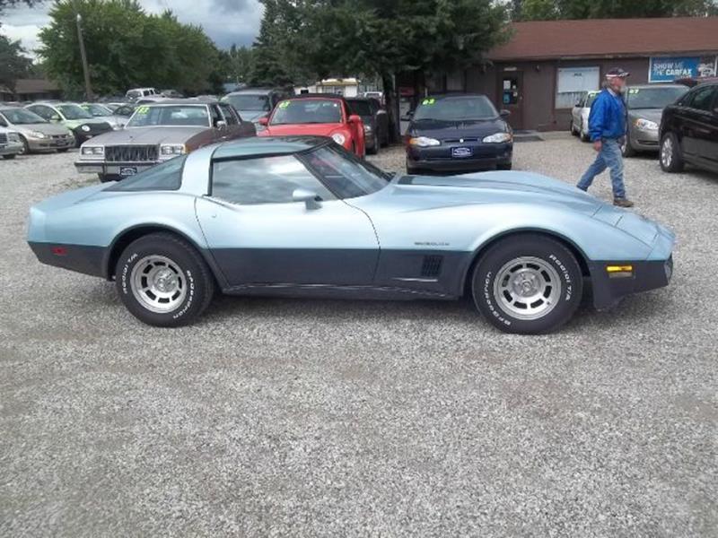 1982 Chevrolet Corvette for sale at BRETT SPAULDING SALES in Onawa IA