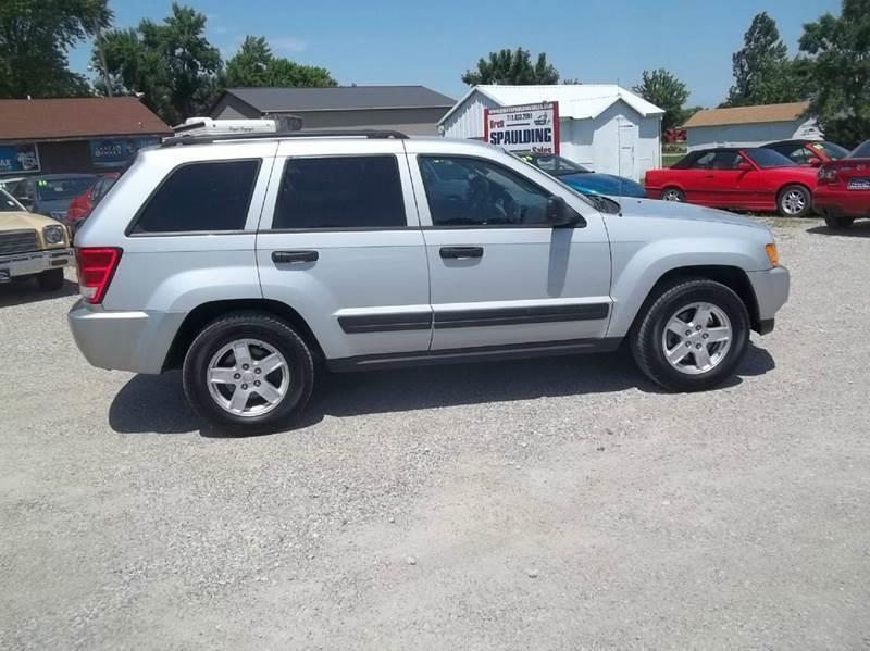2006 Jeep Grand Cherokee for sale at BRETT SPAULDING SALES in Onawa IA