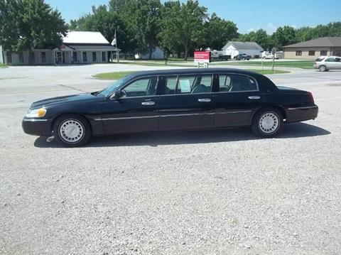 2001 Lincoln Town Car for sale at BRETT SPAULDING SALES in Onawa IA