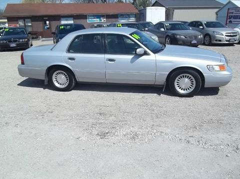 2000 Mercury Grand Marquis for sale at BRETT SPAULDING SALES in Onawa IA
