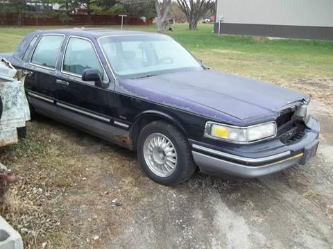 1996 Lincoln Town Car for sale at BRETT SPAULDING SALES in Onawa IA