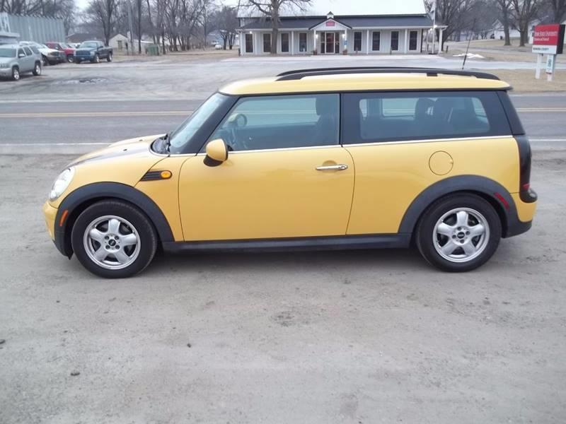 2009 MINI Cooper Clubman for sale at BRETT SPAULDING SALES in Onawa IA