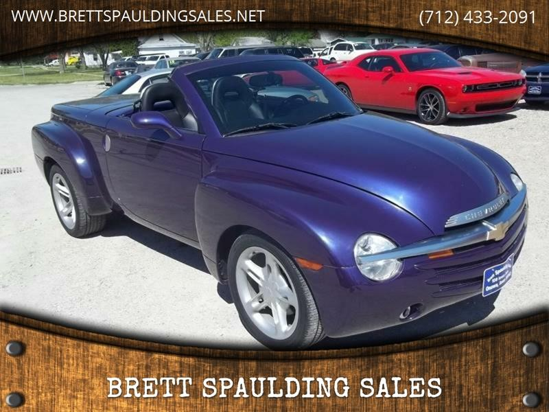 2004 Chevrolet SSR for sale at BRETT SPAULDING SALES in Onawa IA