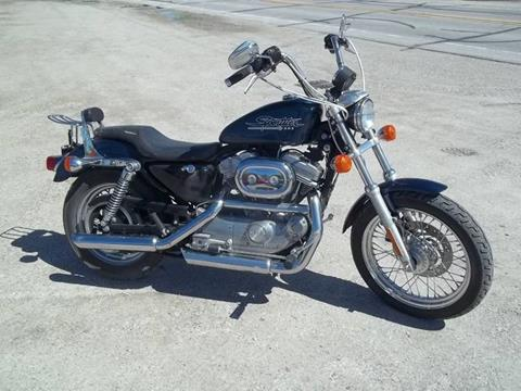 2001 harley davidison 883 hugger for sale at BRETT SPAULDING SALES in Onawa IA