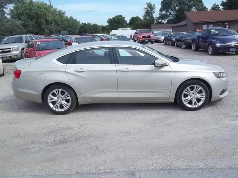 2014 Chevrolet Impala for sale at BRETT SPAULDING SALES in Onawa IA