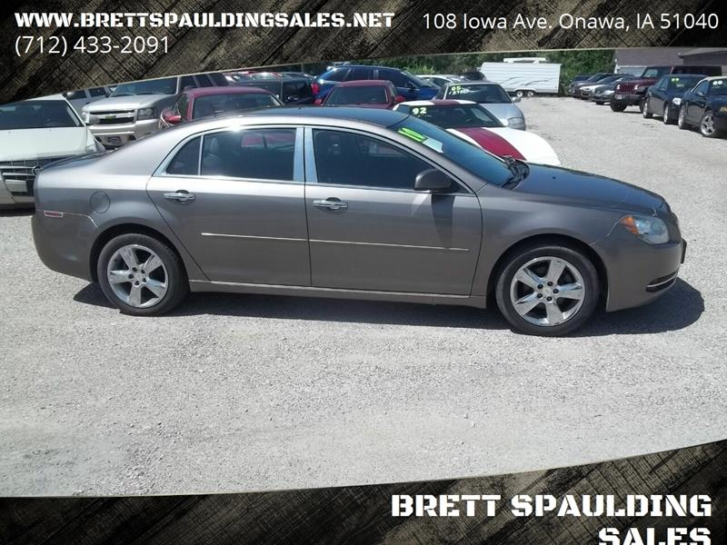 2010 Chevrolet Malibu for sale at BRETT SPAULDING SALES in Onawa IA