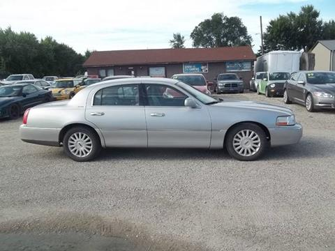 2004 Lincoln Town Car for sale at BRETT SPAULDING SALES in Onawa IA