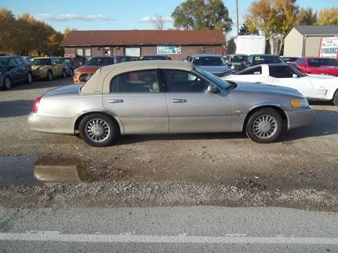 1999 Lincoln Town Car for sale at BRETT SPAULDING SALES in Onawa IA