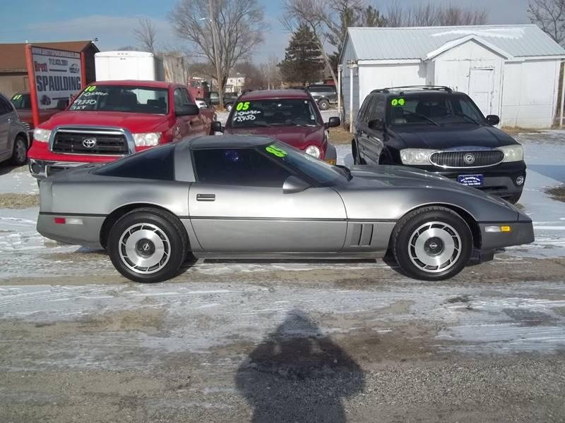 1985 Chevrolet Corvette for sale at BRETT SPAULDING SALES in Onawa IA