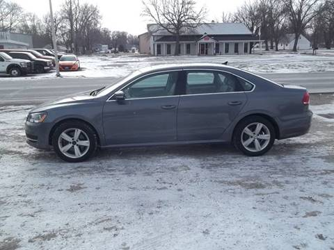 2013 Volkswagen Passat for sale at BRETT SPAULDING SALES in Onawa IA