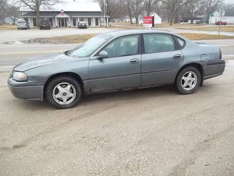 2004 Chevrolet Impala for sale at BRETT SPAULDING SALES in Onawa IA