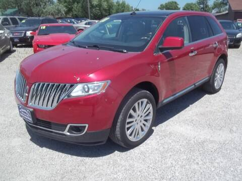2011 Lincoln MKX for sale at BRETT SPAULDING SALES in Onawa IA