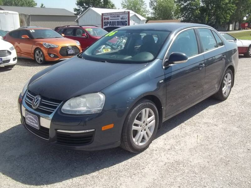 2006 Volkswagen Jetta for sale at BRETT SPAULDING SALES in Onawa IA