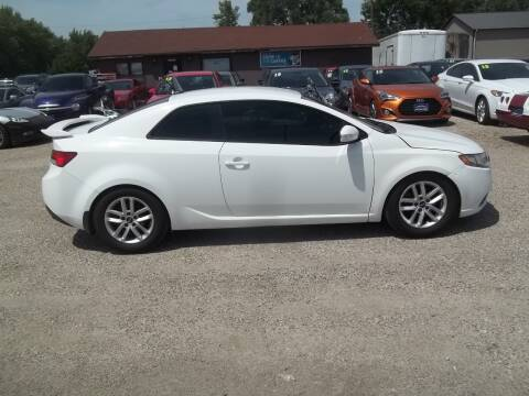 2010 Kia Forte Koup for sale at BRETT SPAULDING SALES in Onawa IA