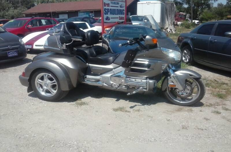 2008 Honda Goldwing for sale at BRETT SPAULDING SALES in Onawa IA