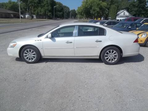 2009 Buick Lucerne for sale at BRETT SPAULDING SALES in Onawa IA