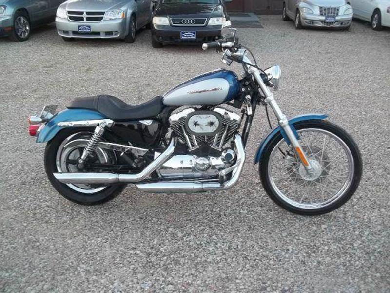 2006 Harley-Davidson Sportster for sale at BRETT SPAULDING SALES in Onawa IA