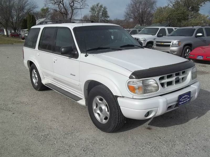 2000 ford explorer 4dr limited 4wd suv in onawa ia brett spaulding sales. Cars Review. Best American Auto & Cars Review