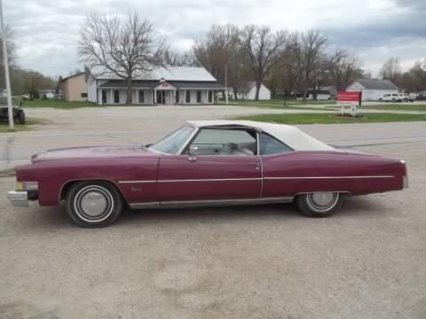 1974 Cadillac Eldorado for sale at BRETT SPAULDING SALES in Onawa IA