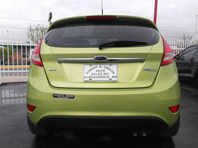 2011 Ford Fiesta Ses 4dr Hatchback In Albuquerque Nm Robert B