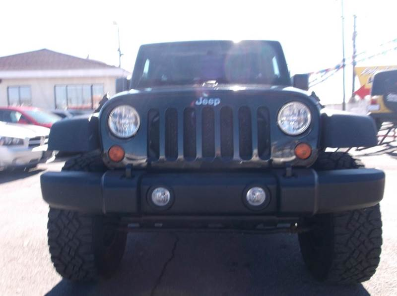 2007 Jeep Wrangler Unlimited 4x4 X 4dr Suv In Albuquerque Nm