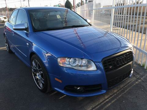2007 Audi S4 for sale at Robert B Gibson Auto Sales INC in Albuquerque NM