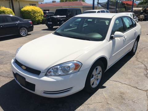 2008 Chevrolet Impala for sale at Robert B Gibson Auto Sales INC in Albuquerque NM