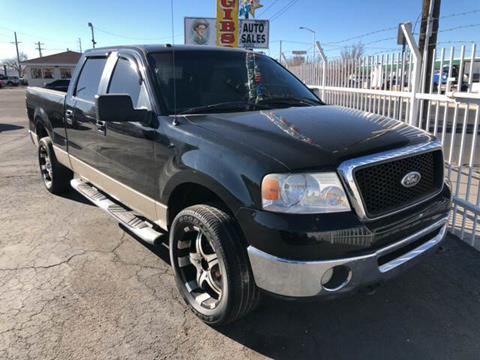 2007 Ford F-150 for sale at Robert B Gibson Auto Sales INC in Albuquerque NM