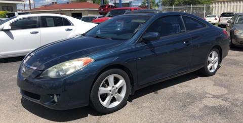 2005 Toyota Camry Solara for sale at Robert B Gibson Auto Sales INC in Albuquerque NM