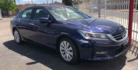 2013 Honda Accord for sale at Robert B Gibson Auto Sales INC in Albuquerque NM