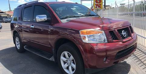 2010 Nissan Armada for sale at Robert B Gibson Auto Sales INC in Albuquerque NM